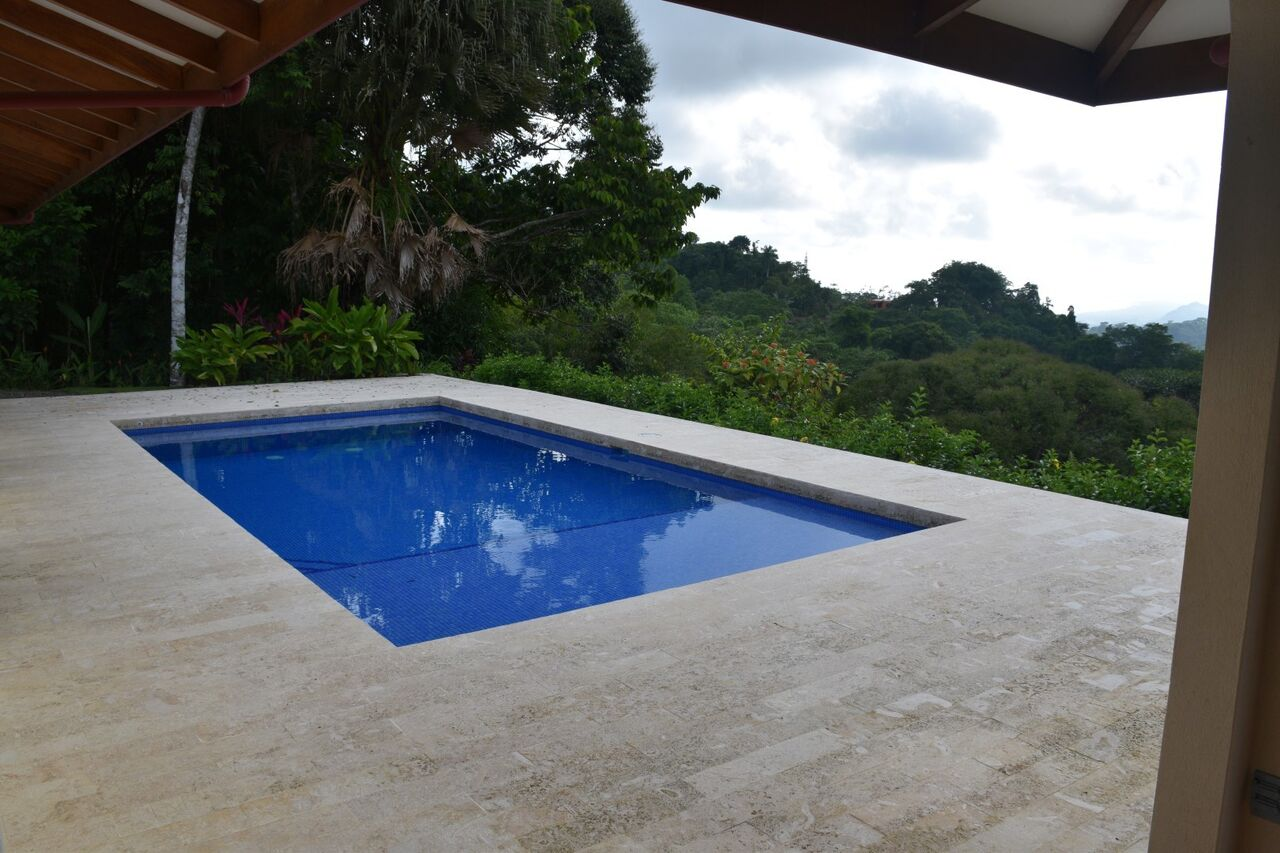 Home with pool ocean mountain view 2 5 bed 2 bath for Pool design costa rica