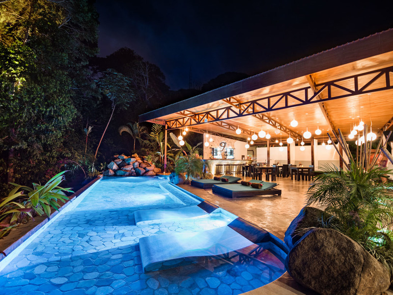Luxury boutique hotel with panoramic ocean whales tail for Hotel luxury for sale
